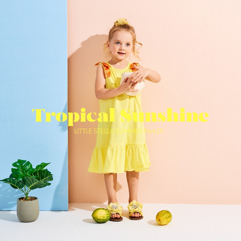 LITTLE STELLA 2021 SUMMER COLLECTION 'Tropical summer'
